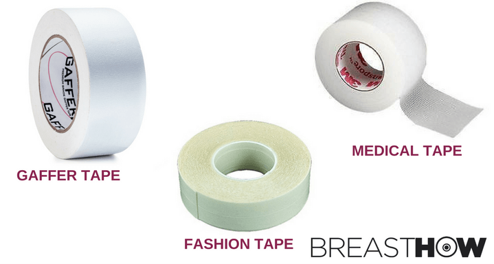 Types of boob tapes