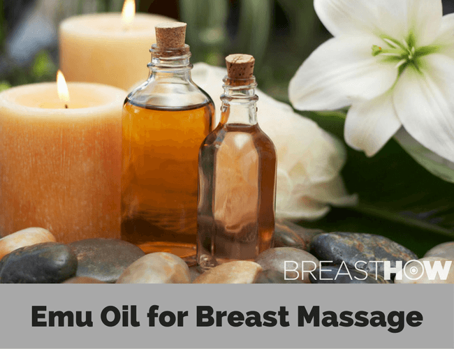 Emu Oil for Breast Massage