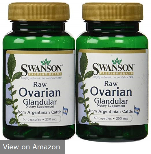 Swanson Raw Ovarian Glandular
